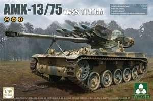 French light tank AMX-13-75 with ss-11 Takom 2038