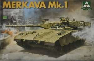 Israeli Tank Merkava Mk.1 in scale 1-35