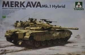 Tank Merkava Mk.1 Hybrid in scale 1-35