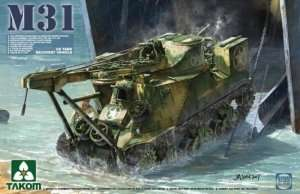 M31 US Tank Recovery Vehicle in scale 1-35