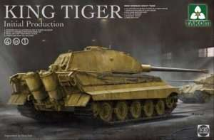 King Tiger Initial Production 4in1 in scale 1-35