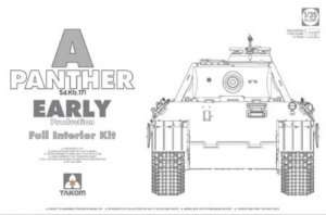 Sd.Kfz.171 Panther A Early w/Full Interior in scale 1-35