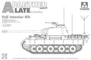 Panther A Late 2 in 1 Full Interior in scale 1-35