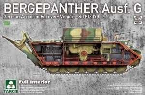 Bergepanther Ausf.G Full Interior model Takom in 1-35