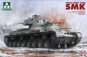 Soviet Heavy Tank SMK in scale 1-35