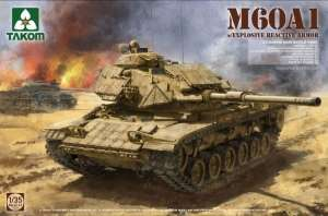 M60A1 w/ Explosive Reactive Armor in scale 1-35