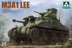 U.S. Medium Tank M3A1 Lee in scale 1-35