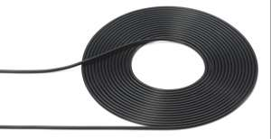 Cable Outer Diameter Black 1mm x 2m Tamiya 12678