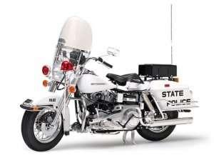 Tamiya 16038 Harley-Davidson FLH 1200 Police Bike