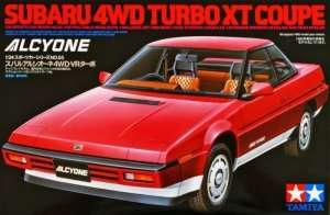 Subaru 4WD Turbo XT Coupe in scale 1-24