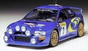 Tamiya 24199 Subaru Impreza WRC '98 Monte-Carlo