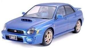 Subaru Impreza WRX STi in scale 1-24