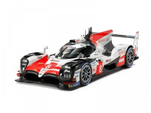 Toyota Gazoo Racing TS050 Hybrid model Tamiya in 1-24