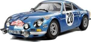Alpine Renault A110 Monte-Carlo 71 in scale 1-24 Tamiya 24278