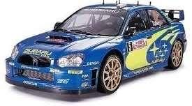 Subaru Impreza WRC Monte Carlo 05 in scale 1-24