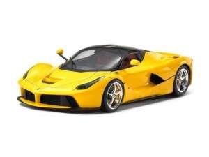 LaFerrari Yellow Version model in scale 1-24