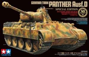 German Tank Panther Ausf.D Special Edition Tamiya in 1-35