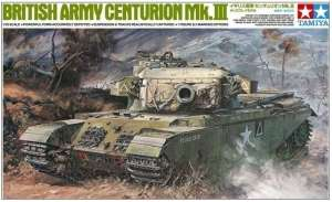 British Army Centurion Mk.III in scale 1-35