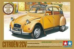 Citroen 2CV in scale 1-24