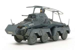 German 8-Wheeled Heavy Armored Car Sd.Kfz.232 in scale 1-48