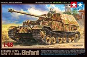 Heavy Tank Destroyer Elefant in scale 1-48 Tamiya 32589