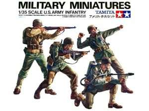 U.S Army Infantry in scale 1-35