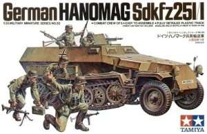 Hanomag Sd.Kfz. 251/1 in scale 1-35