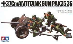 Tamiya 35035 German 37mm Anti-Tank Gun PAK 35/36