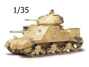 British Army Medium Tank M3 Grant MkI in scale 1-35