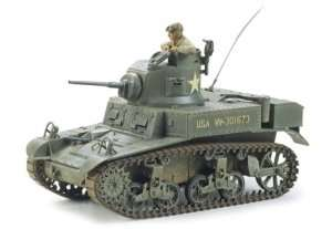 U.S. Light Tank M3 Stuart in scale 1-35 Tamiya 35042