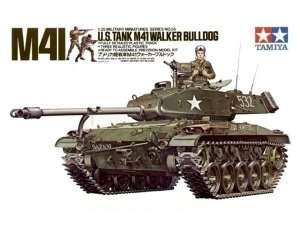 Model Tank U.S M41 Walker Bulldog scale 1-35