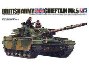 British Chieftain Mk.5 Tank in scale 1-35