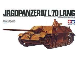 German Jagdpanzer IV L/70 lang in scale 1-35