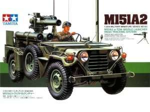 U.S M151A2 w/TOW misile launcher in scale 1-35