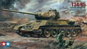 Russian Medium Tank T-34/85 model Tamiya in 1-35