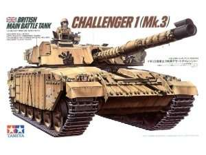 British MBT Challenger 1 ( Mk.3 ) in scale 1-35