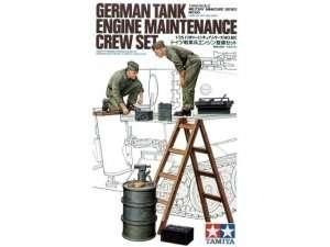 Tamiya 35180 German Tank engine maitenance crew set