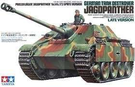 German Tank Destroyer Jagdpanther Late Version in scale 1-35