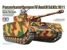 German Tank Pz.Kpfw. IV Ausf.H in scale 1-35