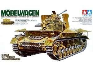 German self propelled AA Gun Mobelwagen model Tamiya in 1-35