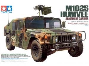 M1025 Humvee Armament Carrier model Tamiya in 1-35