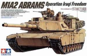 U.S. M1A2 Abrams Operation Iraqi Freedom in scale 1-35