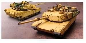 U.S. M1A2 Abrams Operation Iraqi Freedom in scale 1-35