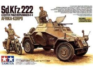 Armored Car Sd. Kfz.222 North African Campaign in scale 1-35