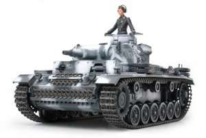 Tamiya 35290 German Panzerkampfwagen III Ausf. N (Sd.Kfz.141/2)