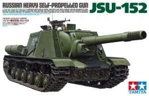 Russian Heavy Self-Propelled Gun JSU-152 model Tamiya in 1-35