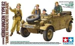 German Kubelwagen Type 82 in scale 1-35