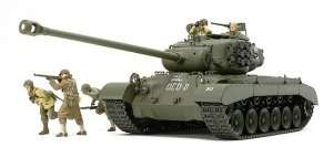 U.S. Tank T26E4 Super Pershing in scale 1-35