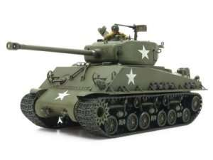 Tamiya 35346 US Medium Tank M4A3E8 Sherman Easy Eight