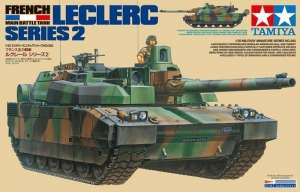 French Main Battle Tank Leclerc Series 2 in scale 1-35